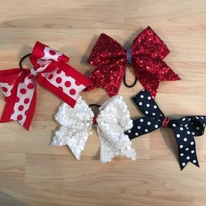 Accessories - Multi Colored Hair Bows